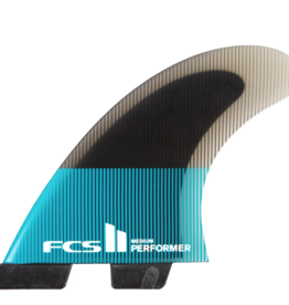 FCS FCS2 PERFORMER PC LARGE TEAL/BLACK TRI
