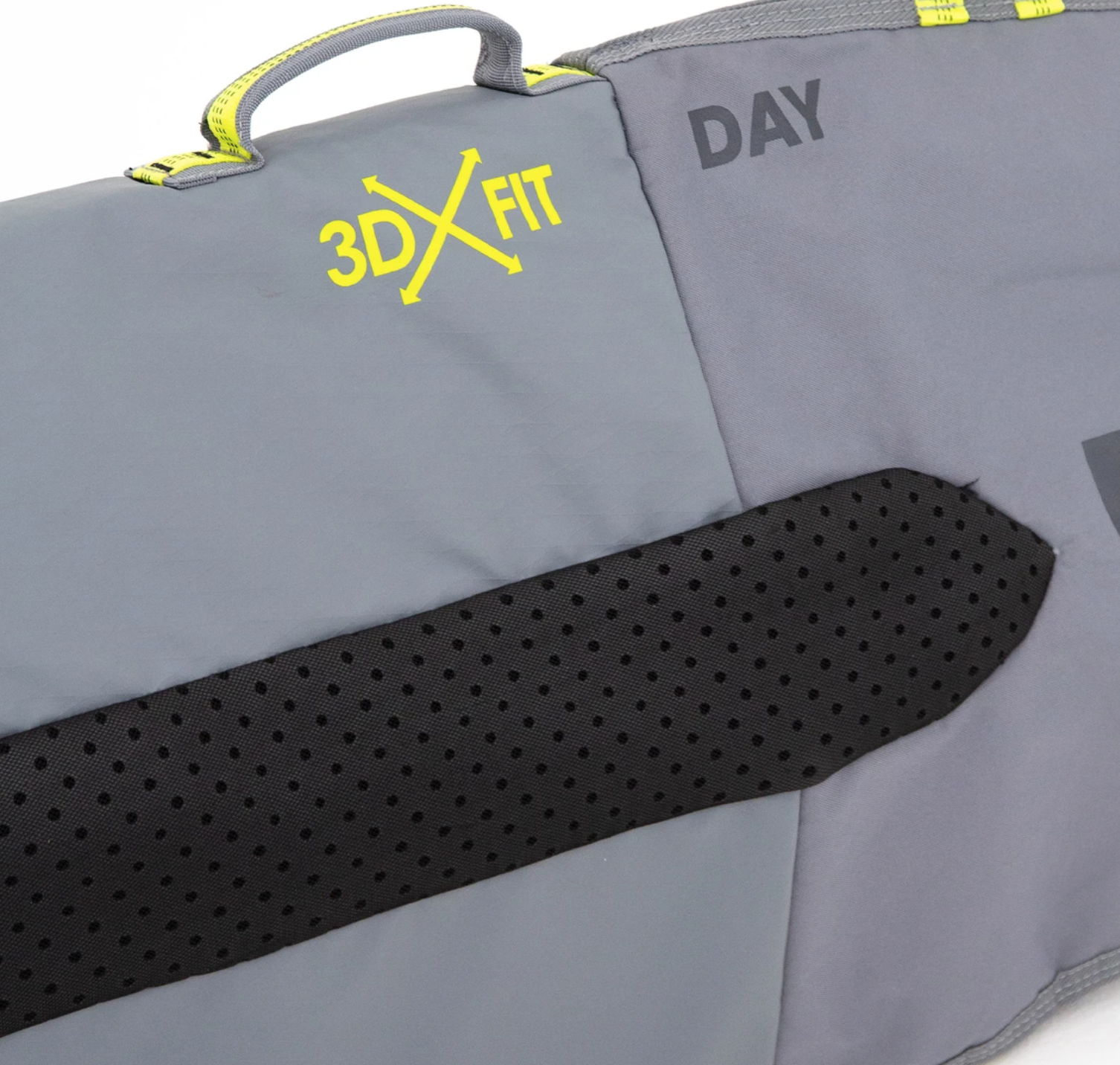 FCS 6'0 DAY BAG ALL PURPOSE GREY
