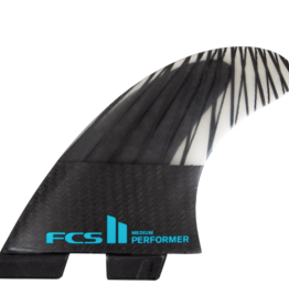 FCS FCS II PREFORMER PC CARBON TEAL XL TRI SET