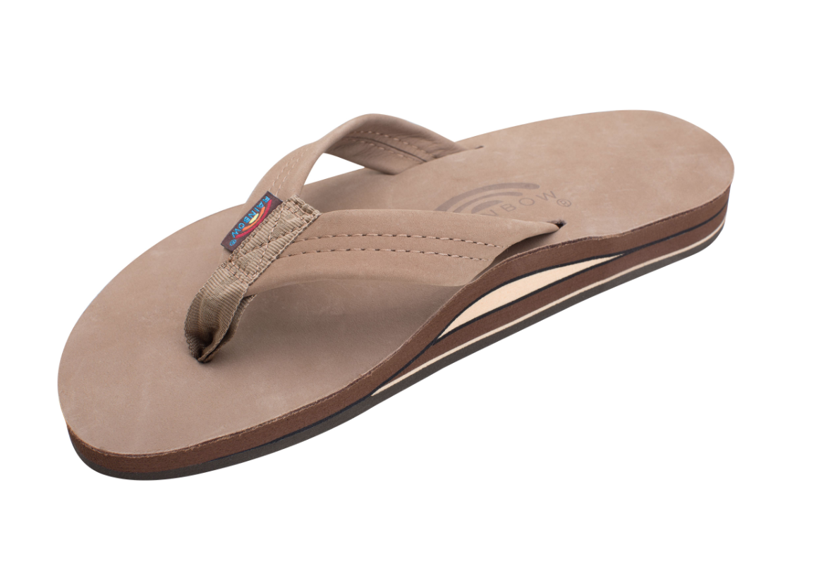 RAINBOW SANDALS MEN DOUBLE LAYER