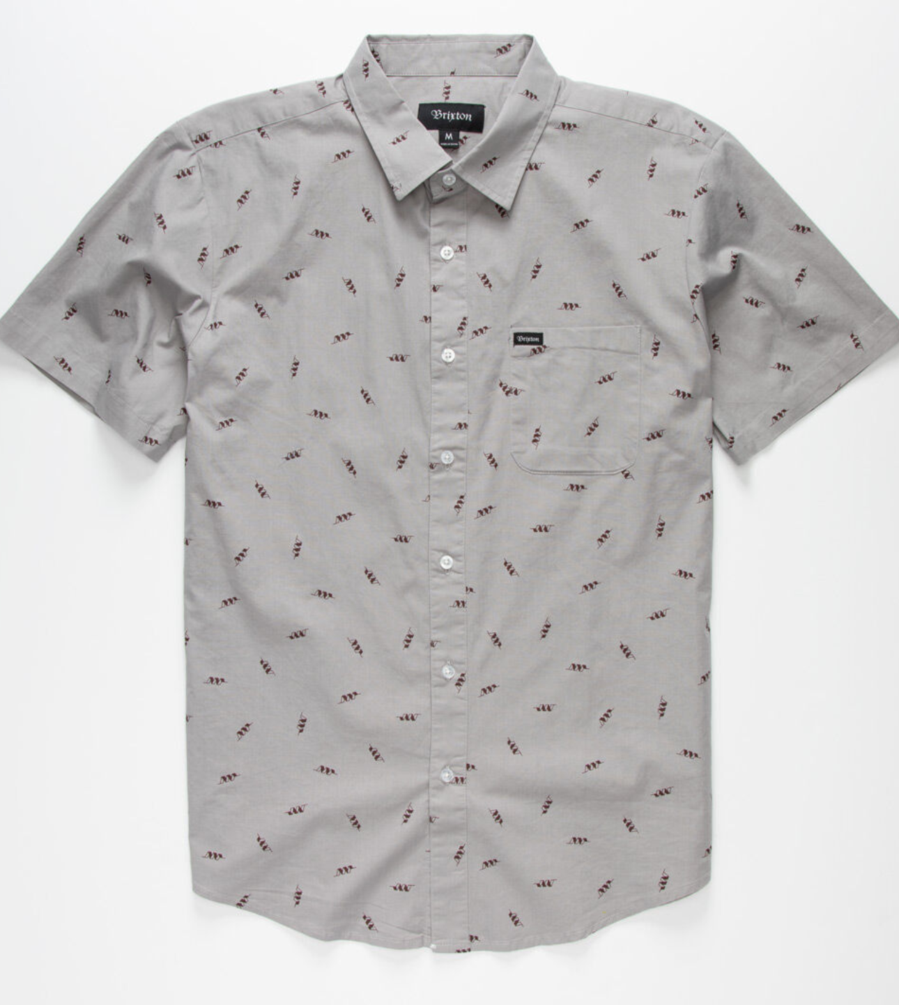 BRIXTON CHARTER PRINT S/S WOVEN