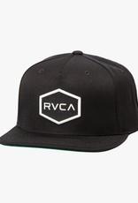 RVCA COMMONWEALTH III SNAPBACK