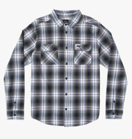 RVCA HOSTILE FLANNEL LS