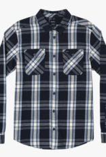 RVCA REVERBERATION FLANNEL LS