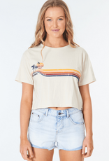 RIPCURL GOLDEN DAYS CROP TEE