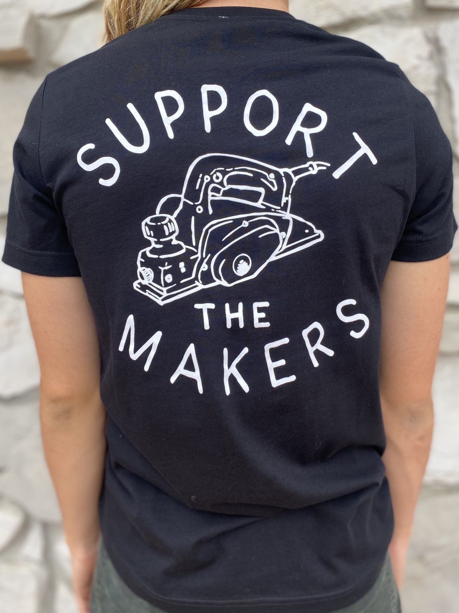 BUILDING THE REVOLUTION SUPPORT SHAPERS TEE