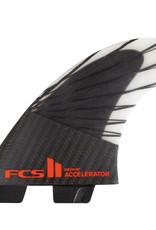 FCS ACCELERATOR PC CARBON MEDIUM TRI SET