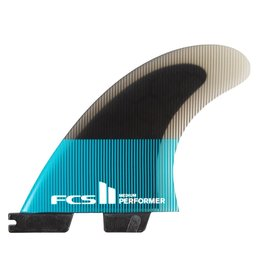 FCS FCS II Performer PC XL Teal/Black Tri