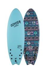 5'6 ODYSEA SKIPPER PRO QUAD JOB SKY BLUE