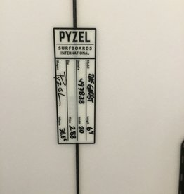 PYZEL 6'4 GHOST FUTURES 5P