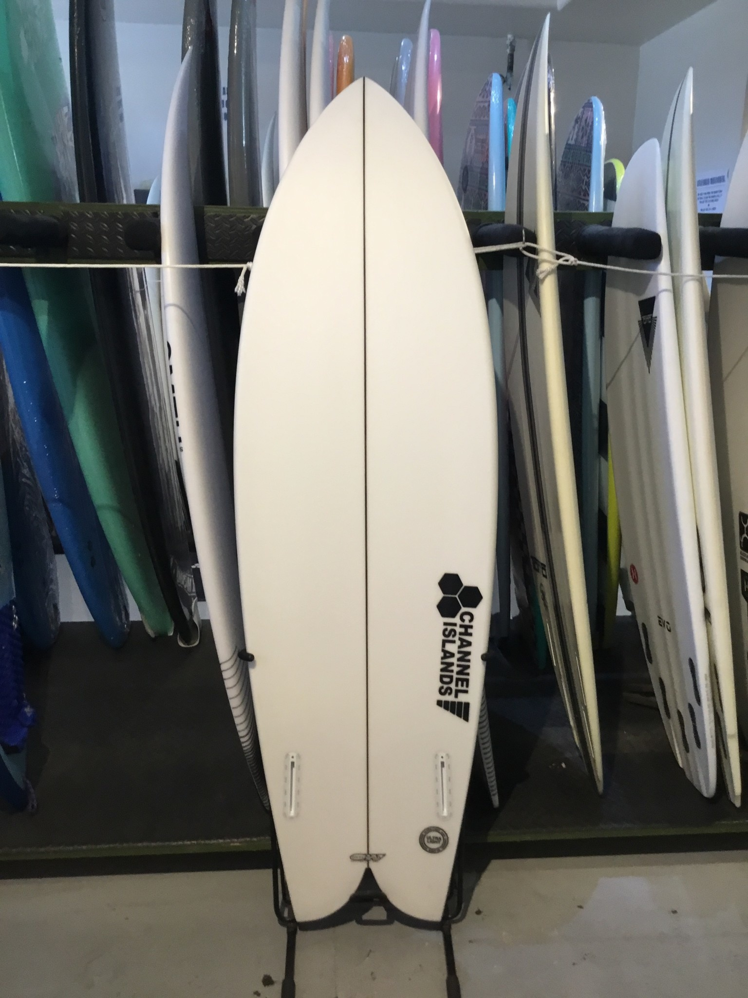 CHANNEL ISLANDS SURFBOARDS 5'6 CI FISH FUTURES