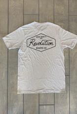 REVOLUTION SC  SCRIPT S/S TEE MENS