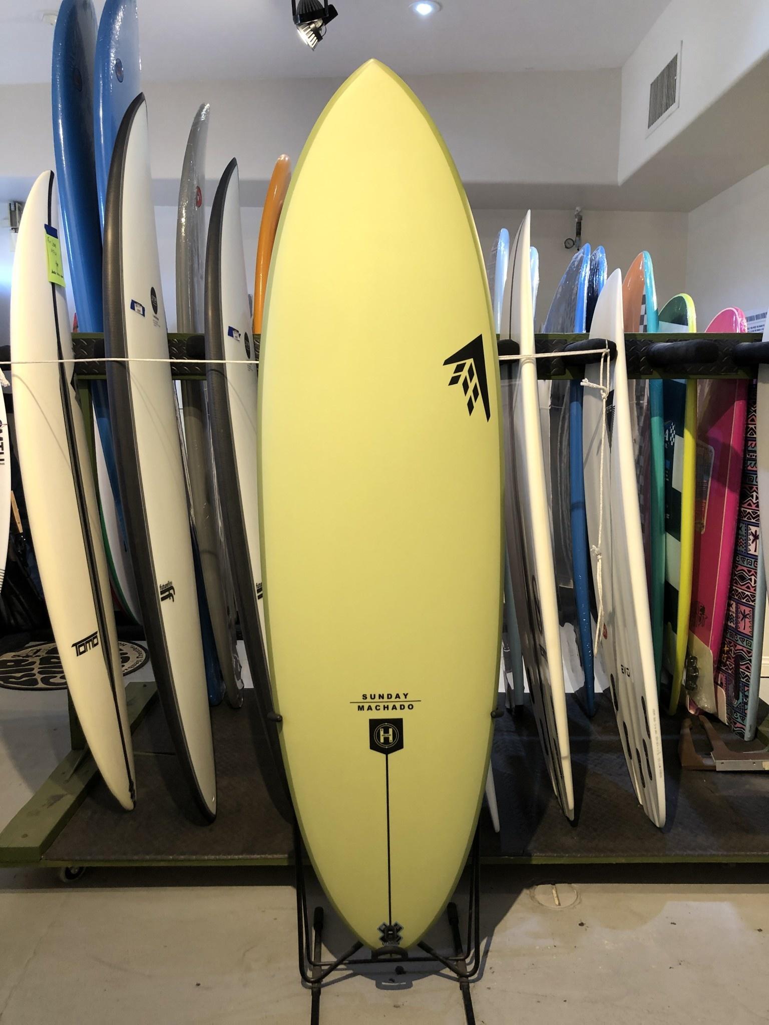 FIREWIRE SURFBOARDS 6'0 SUNDAY FUTURES GREEN