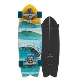 C7 RAW 29.5 SWALLOW SURF SKATE
