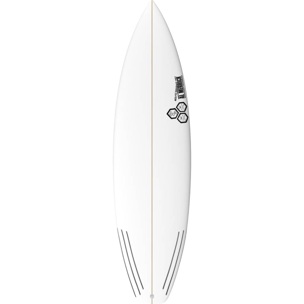 CHANNEL ISLANDS SURFBOARDS 6'0 BLACK AND WHITE
