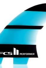 FCS FCS 2 PERFORMER NEOGLASS TRI MEDIUM