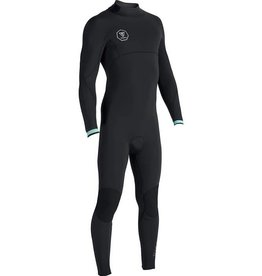 VISSLA VISSLA 7 SEAS 4/3 CHEST ZIP FULLSUIT
