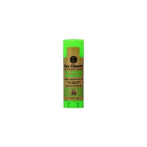 RAW ELEMENTS LIP RESCUE SUNSCREEN SPF30 0.15OZ