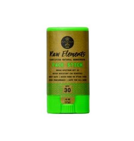 RAW ELEMENTS ECO FACE STICK SPF30 0.6OZ