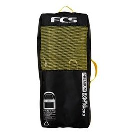 FCS FCS PREMIUM D-RING DOUBLE SOFT RACKS