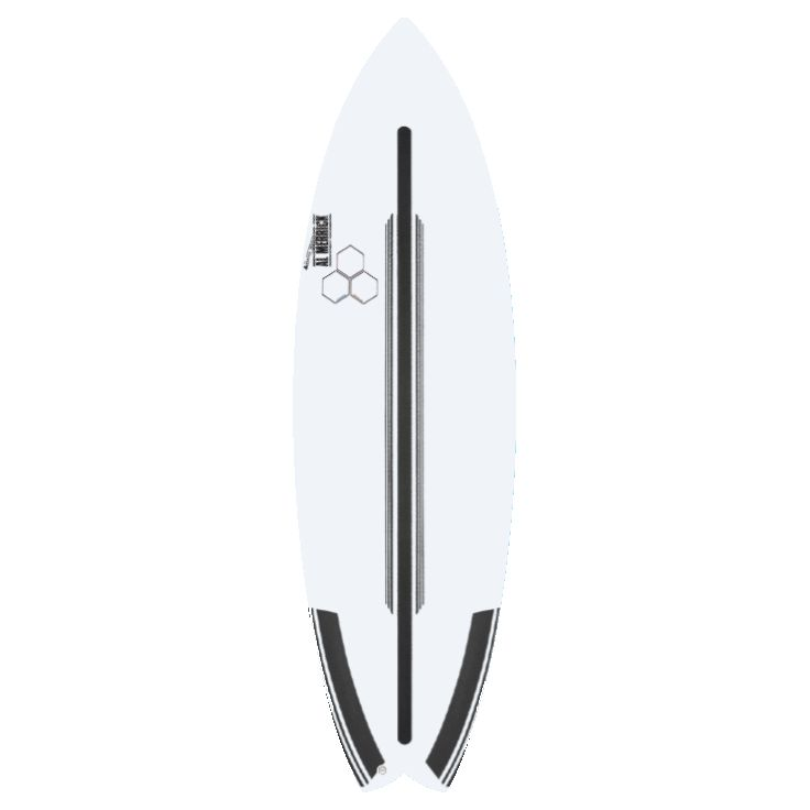 CHANNEL ISLANDS SURFBOARDS 5'7 ROCKET WIDE SPINETEK FCSII 5FIN
