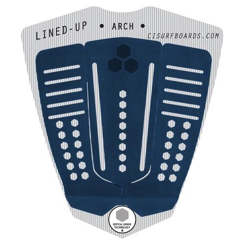 CHANNEL ISLANDS SURFBOARDS CI LINED UP ARCH PAD BLACK