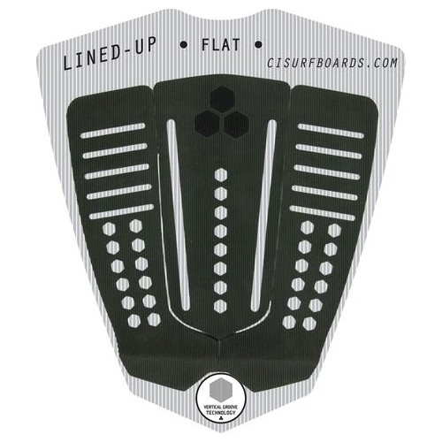 CHANNEL ISLANDS SURFBOARDS CI LINED UP FLAT PAD BLACK