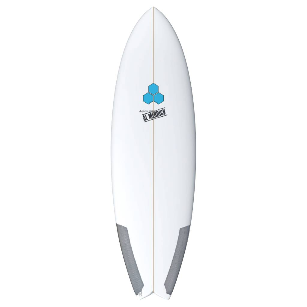 CHANNEL ISLANDS SURFBOARDS CI 5'8 POD MOD FCS2