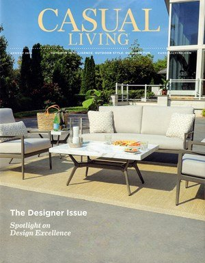 Bringing Art Outside -Feature on  'Casual Living Magazine'