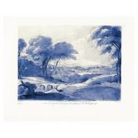Framed Print on Canvas Pastoral 4