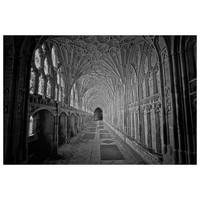 Facemount Acrylic: Gloucester Cathedral Facemount Acrylic