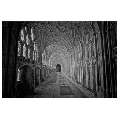 The Picturalist Framed Facemount Acrylic:  MB Gloucester Cathedral