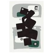 Print on Paper US250 - MB Modernist Emerald Series #1