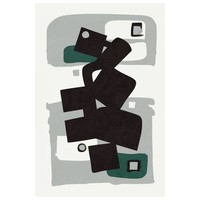 Print on Paper US250 - Modernist Emerald Series #1