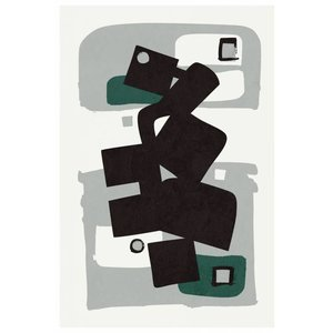 Print on Paper US250 - MB Modernist Emerald Series #1