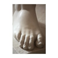 The Picturalist Framed Print on Rag Paper: Marble Foot