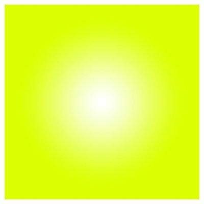 Facemount Acrylic - Lime Halo