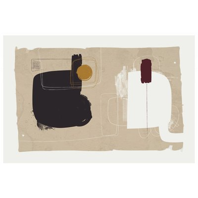 Framed Print on Rag Paper: Lexicon by Alejandro Franseschini