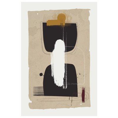 Framed Print on Rag Paper: Fossus by Alejandro Franseschini