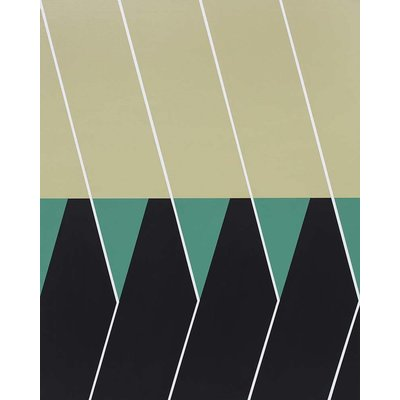 Framed Print on Canvas: Langreo by Rodrigo Martin