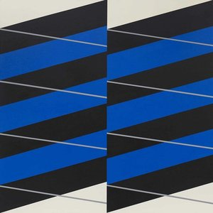 Stretched Canvas 1.5 - Stripes #04 by Rodrigo Martin