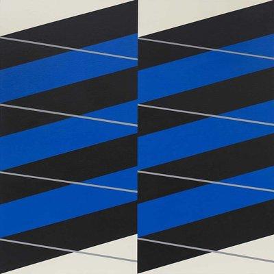 Stretched Canvas 1.5 - Stripes #04 by Rodrigo Martin