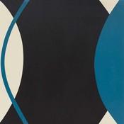 Framed Print on Canvas: Plano y Curva by Rodrigo Martin
