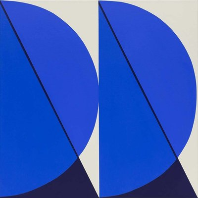 Stretched Canvas 1.5 - Cuadratura #03 by Rodrigo Martin