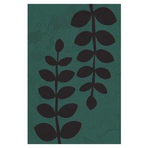 Framed Print on Rag Paper Leaves