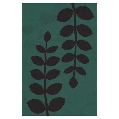 Framed Print on Rag Paper: Leaves by Alejandro Franseschini