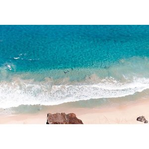Print on Paper US250 - Australian Coastline by K. Ahsam 2019