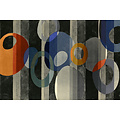 The Picturalist Framed Print on Canvas: Around in Circles