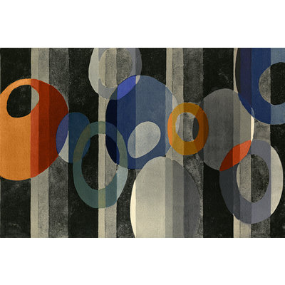 The Picturalist Framed Print on Canvas: Around in Circles by Benedictus