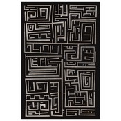 Framed Print on Rag Paper: Labyrinth by A. Franseschini